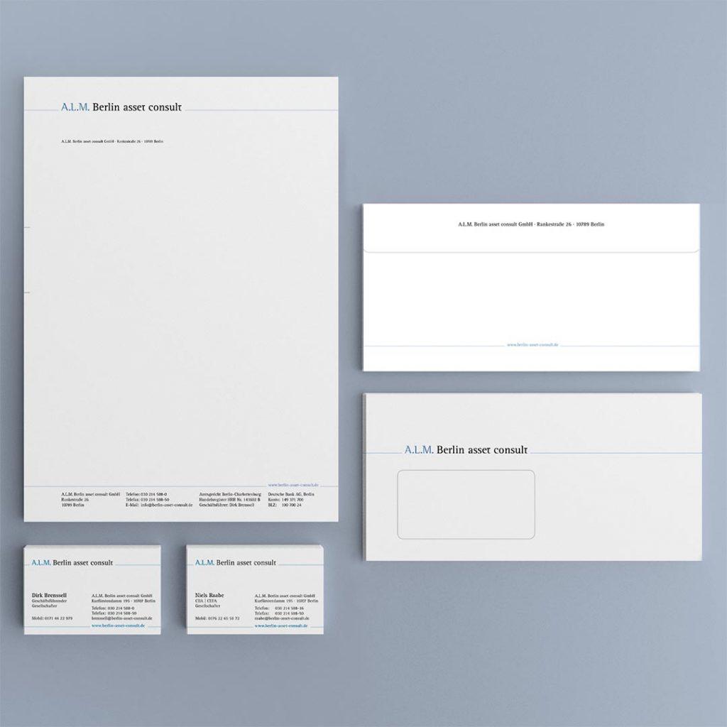 ALM Corporate Design und Geschäftsausstattung