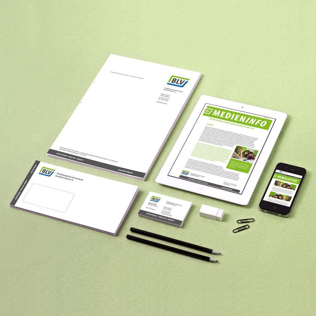 BLV Corporate Design und Geschäftsausstattung
