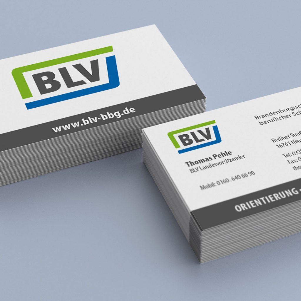 BLV Visitenkarten