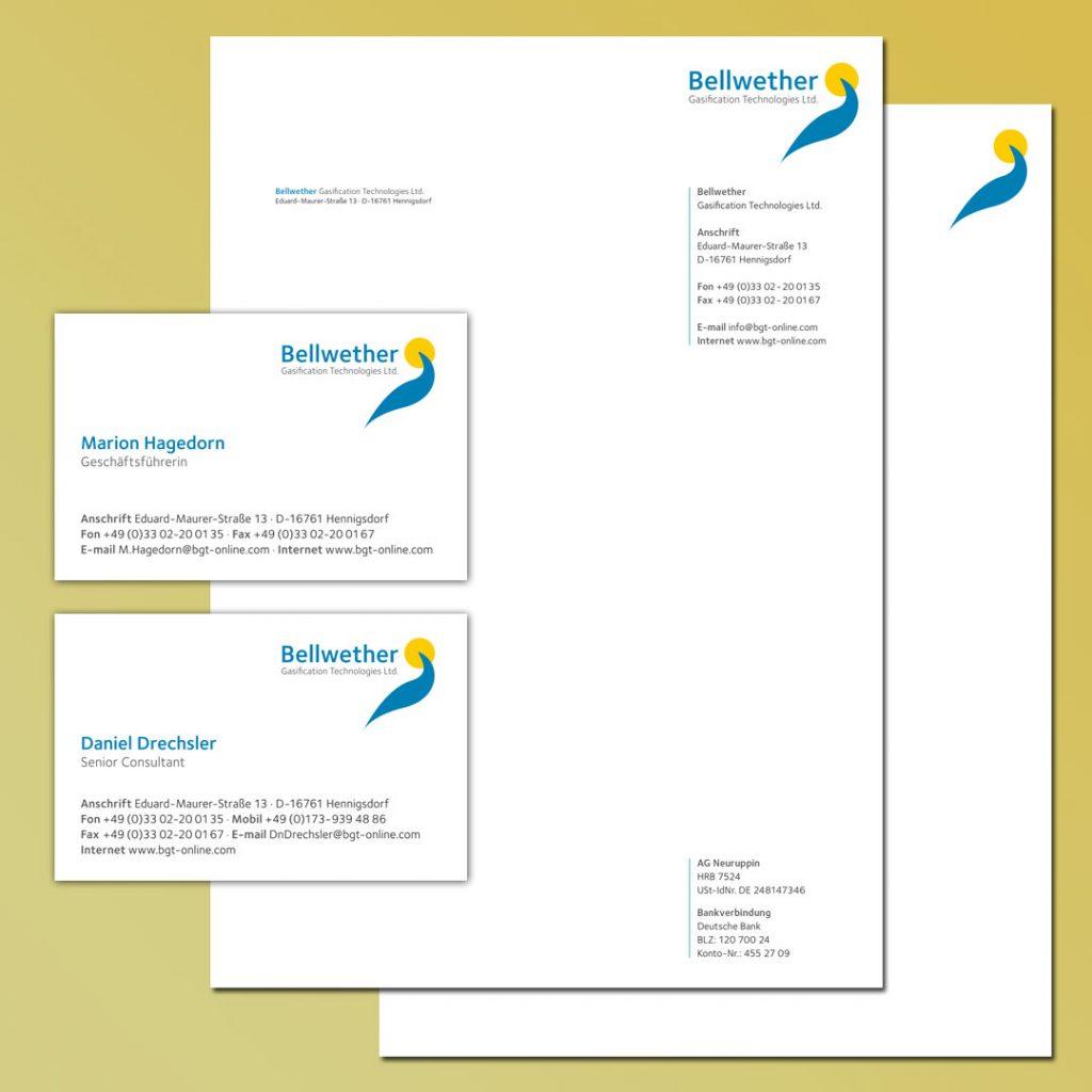Bellwether Corporate Design und Geschäftsausstattung