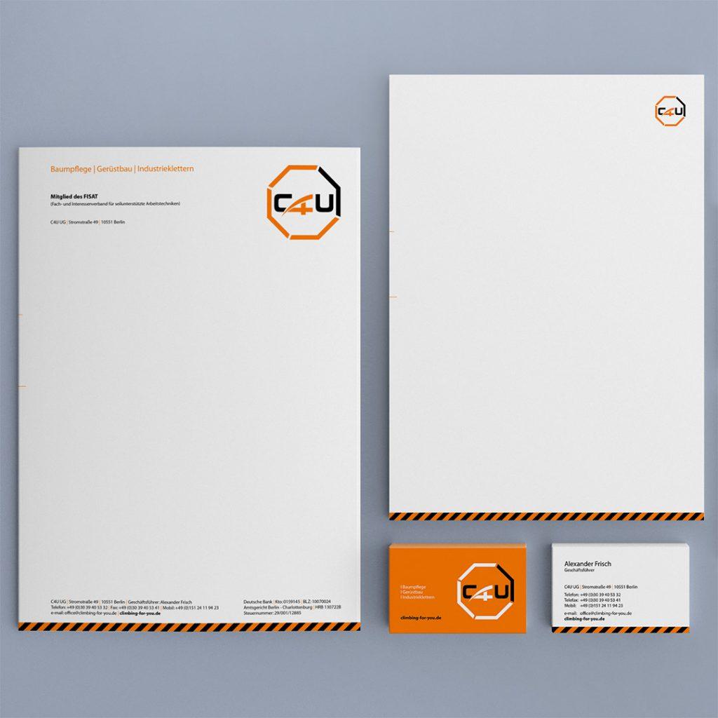 C4U Corporate Design und Geschäftsausstattung