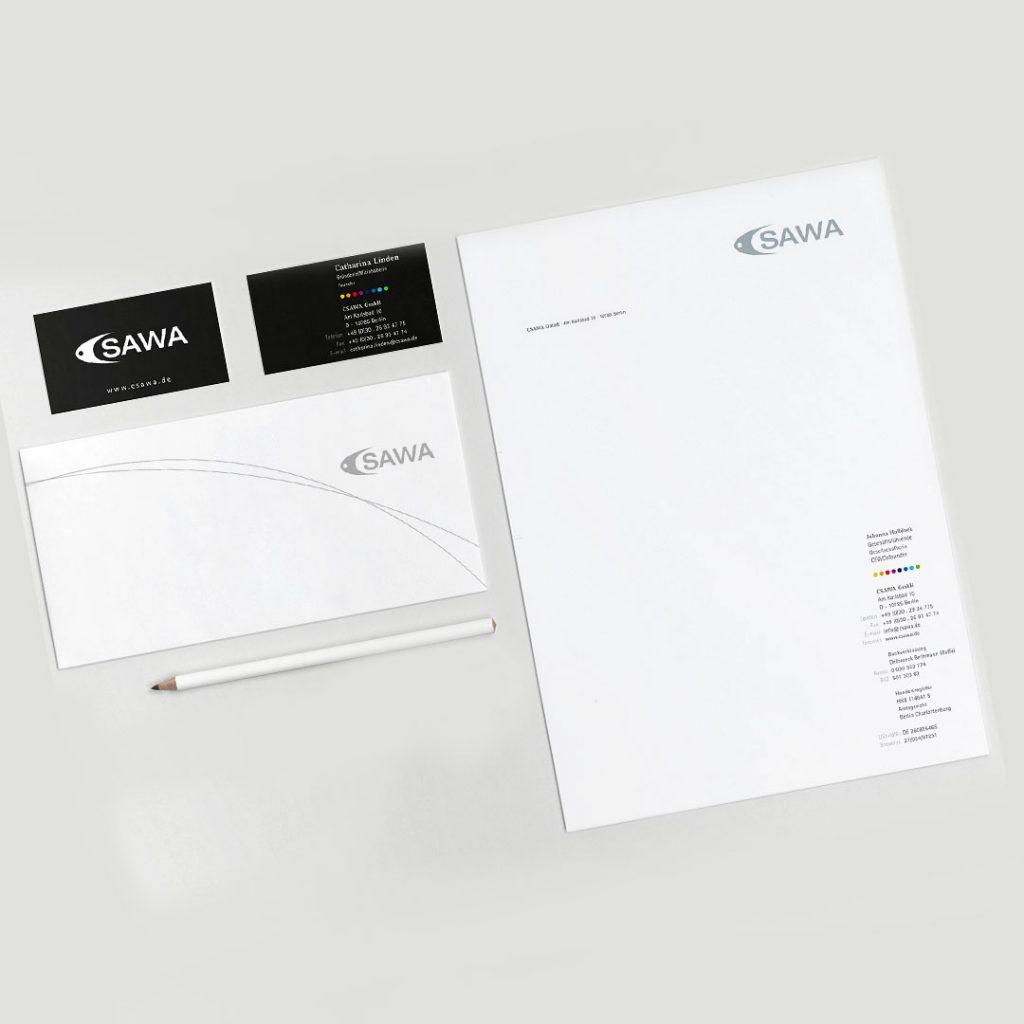 CSAWA Corporate Design und Geschäftsausstattung