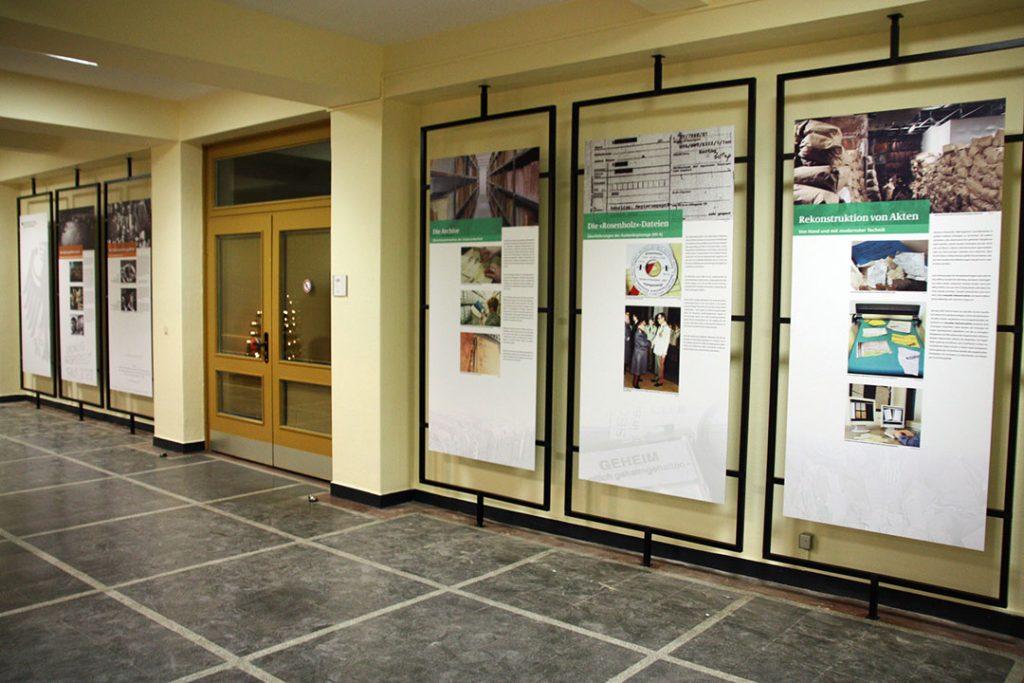 Eventausstattung Ausstellungstafeln