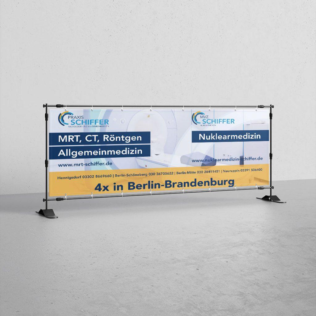 Eventausstattung Großformat Banner