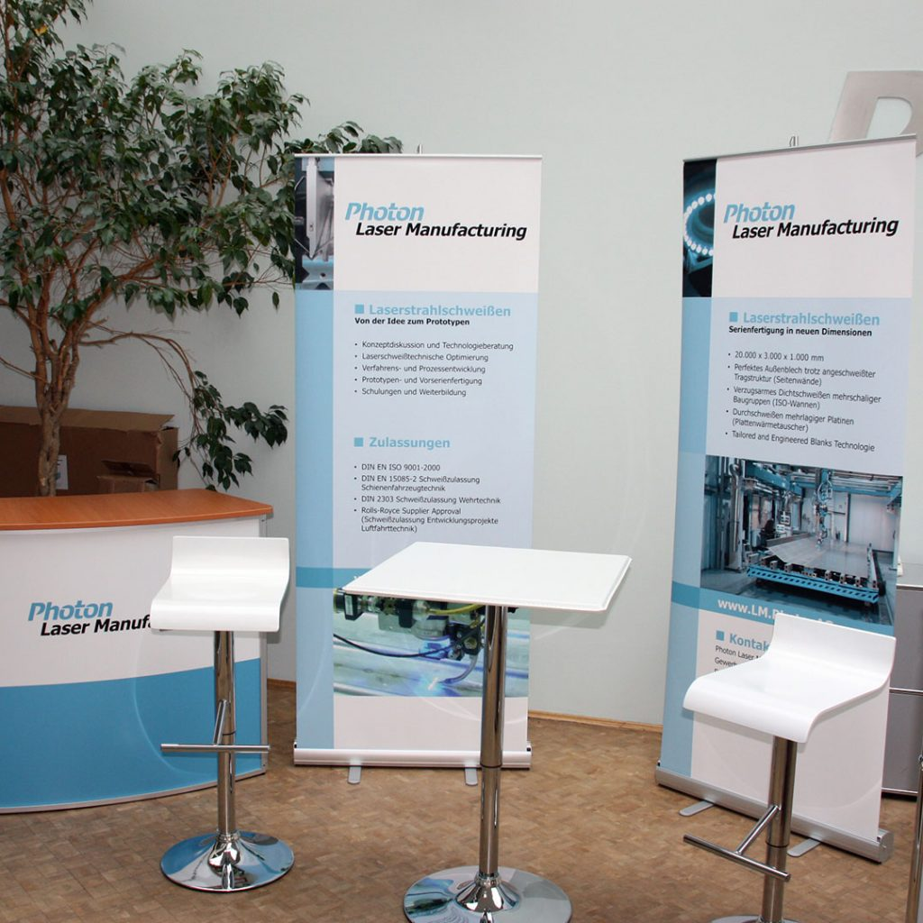 Eventausstattung Messestand