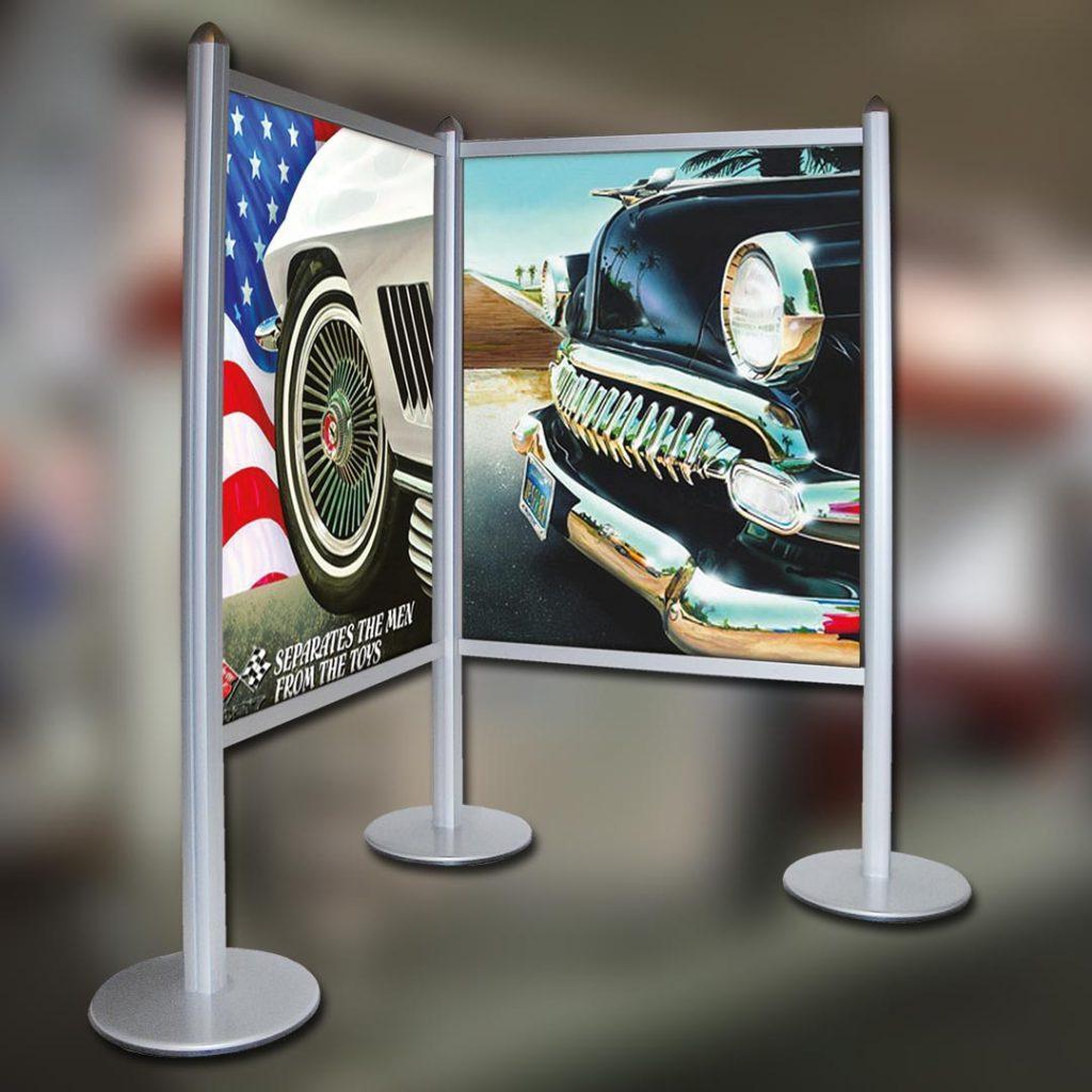 Eventausstattung Werbesysteme Expowand Eckwand