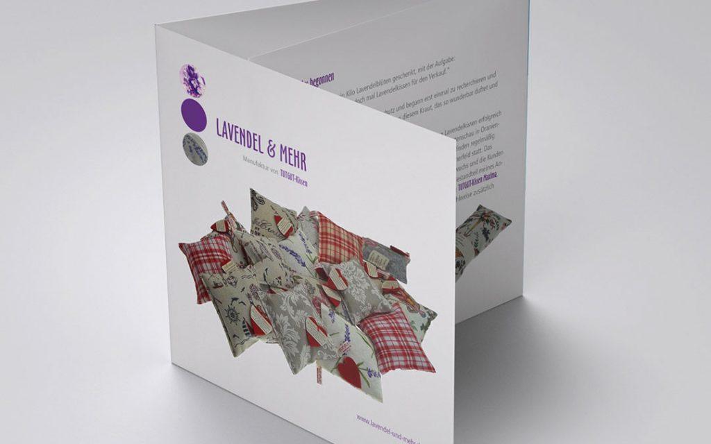 Lavendel & mehr Flyer