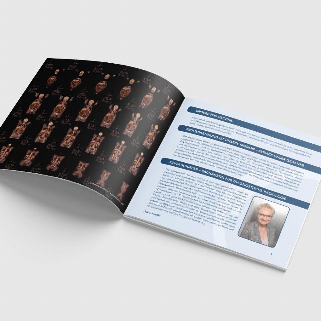 Praxis Schiffer Broschüre