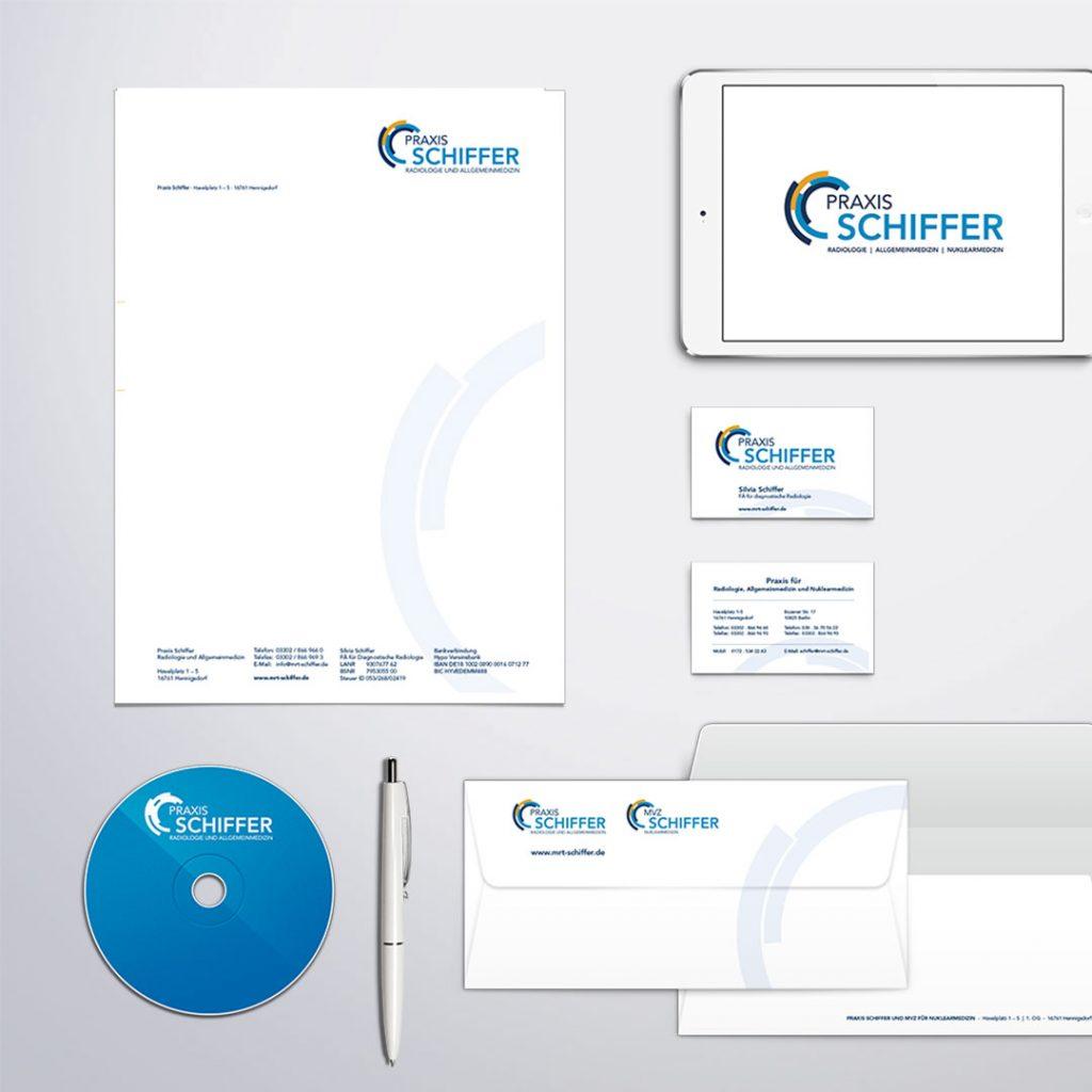 Praxis Schiffer Corporate Design und Geschäftsausstattung