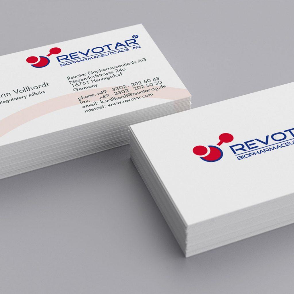 Revotar Corporate Design und Geschäftsausstattung