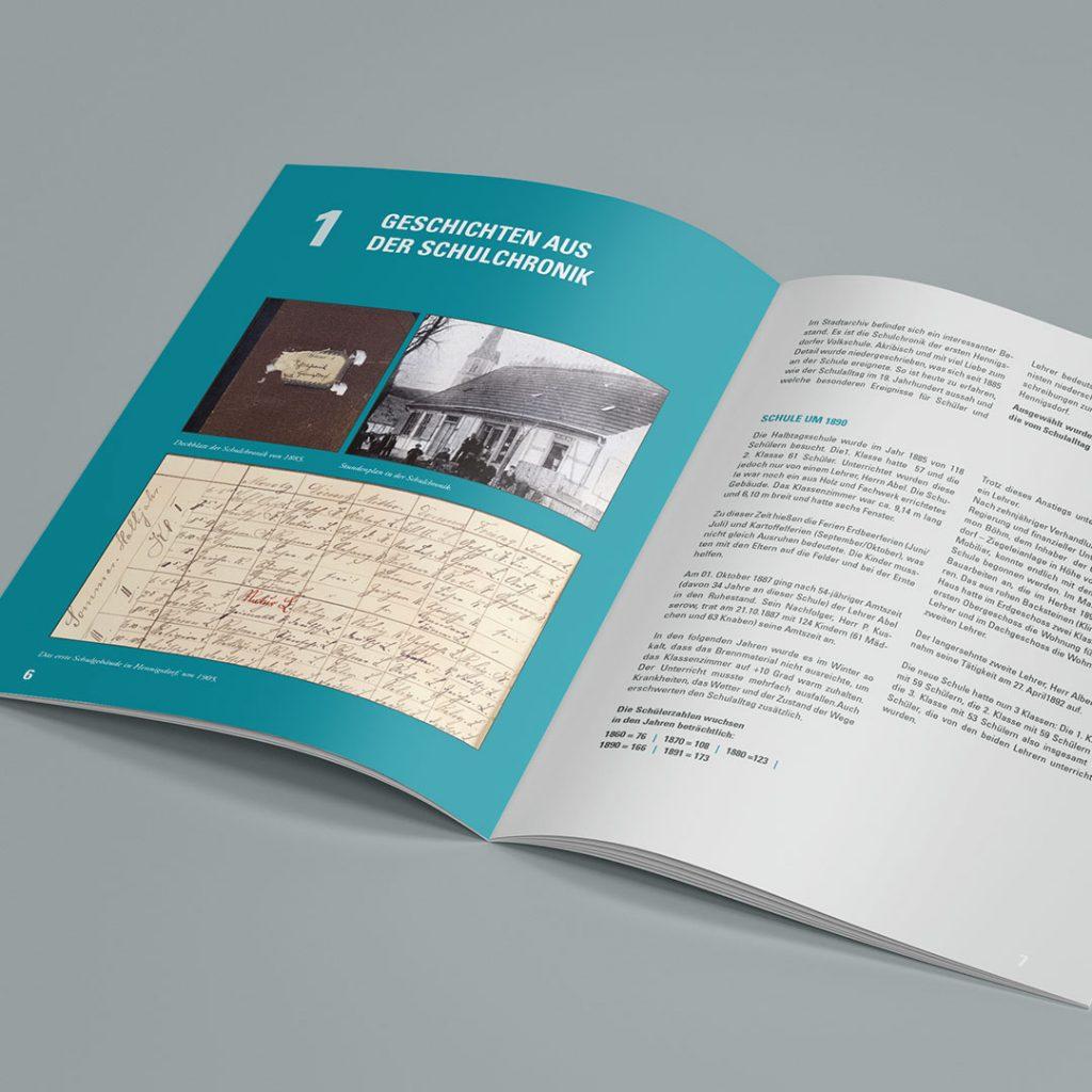 SV Hennigsdorf Dorfidyll Broschüre