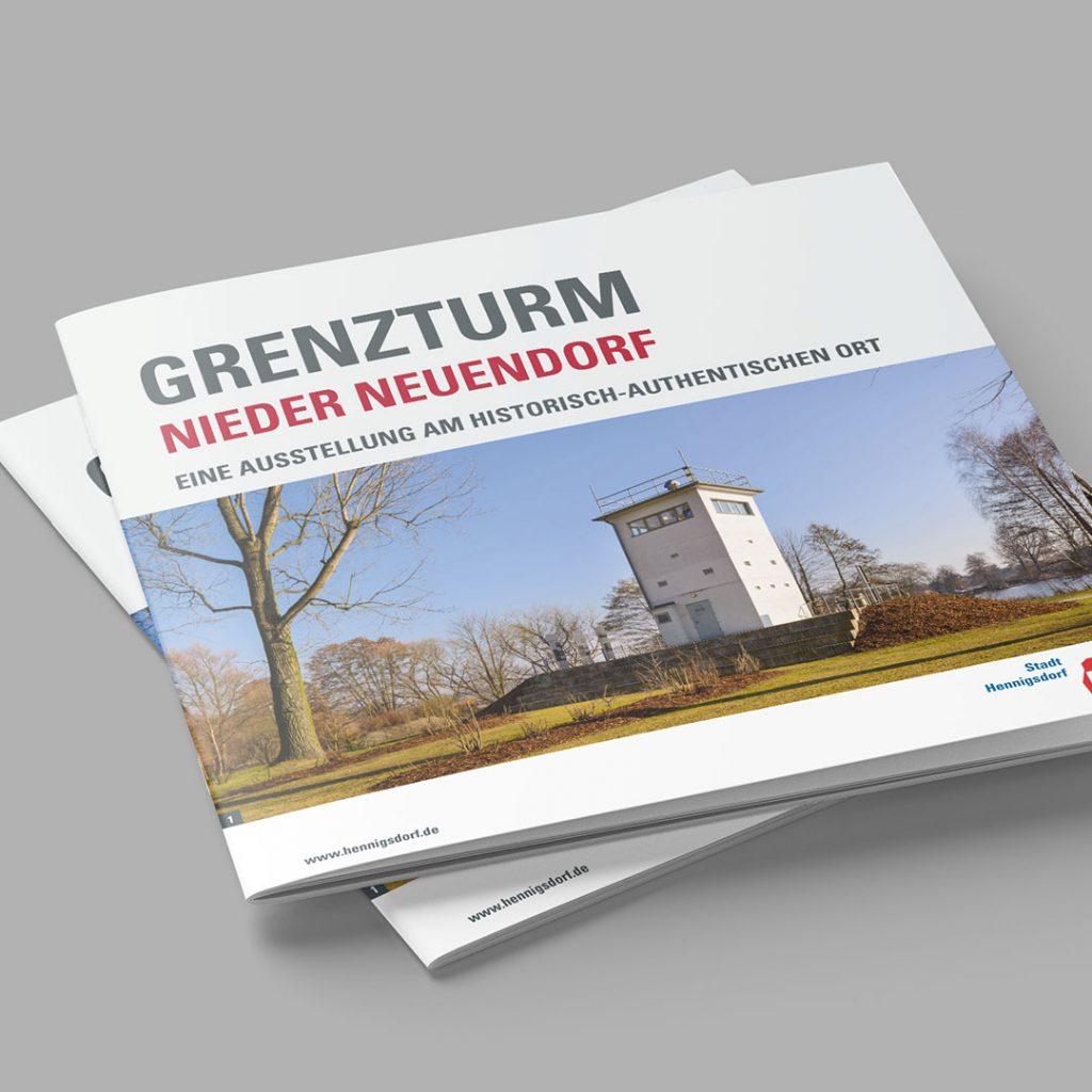 SV Hennigsdorf Grenzturm Broschüre
