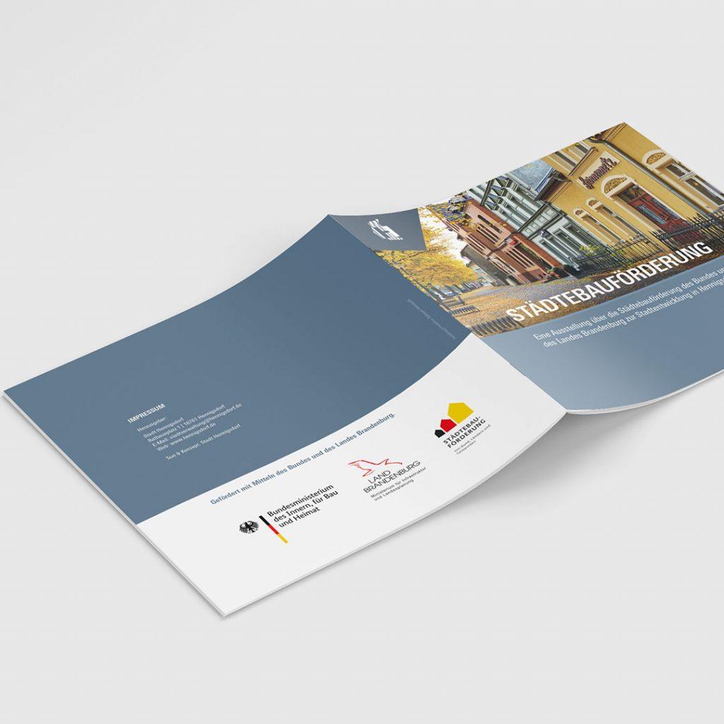 SV Hennigsdorf Tag der offenen Tür Broschüre