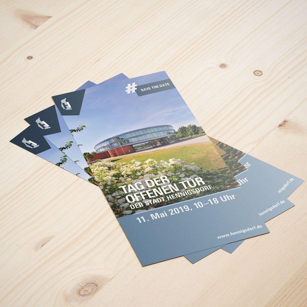 SV Hennigsdorf Tag der offenen Tür Flyer