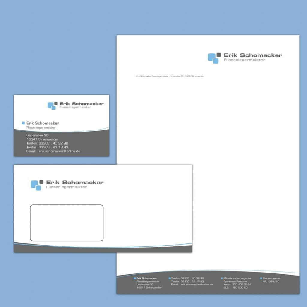Schomacker Corporate Design und Geschäftsausstattung