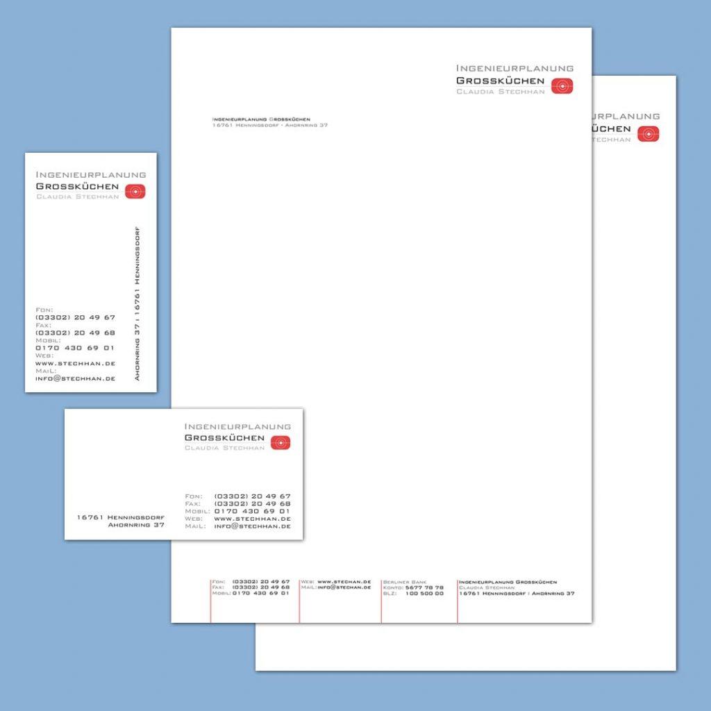 Stechhan Corporate Design und Geschäftsausstattung