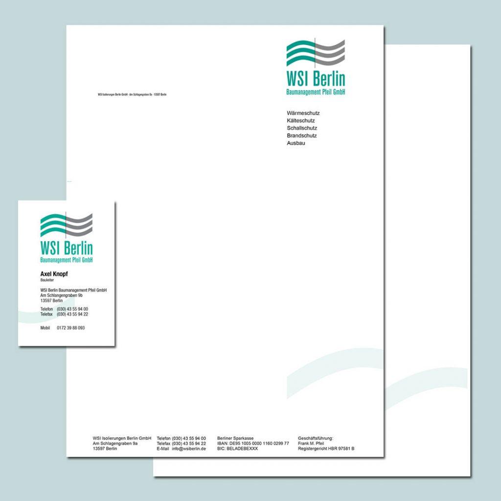 WSI Corporate Design und Geschäftsausstattung