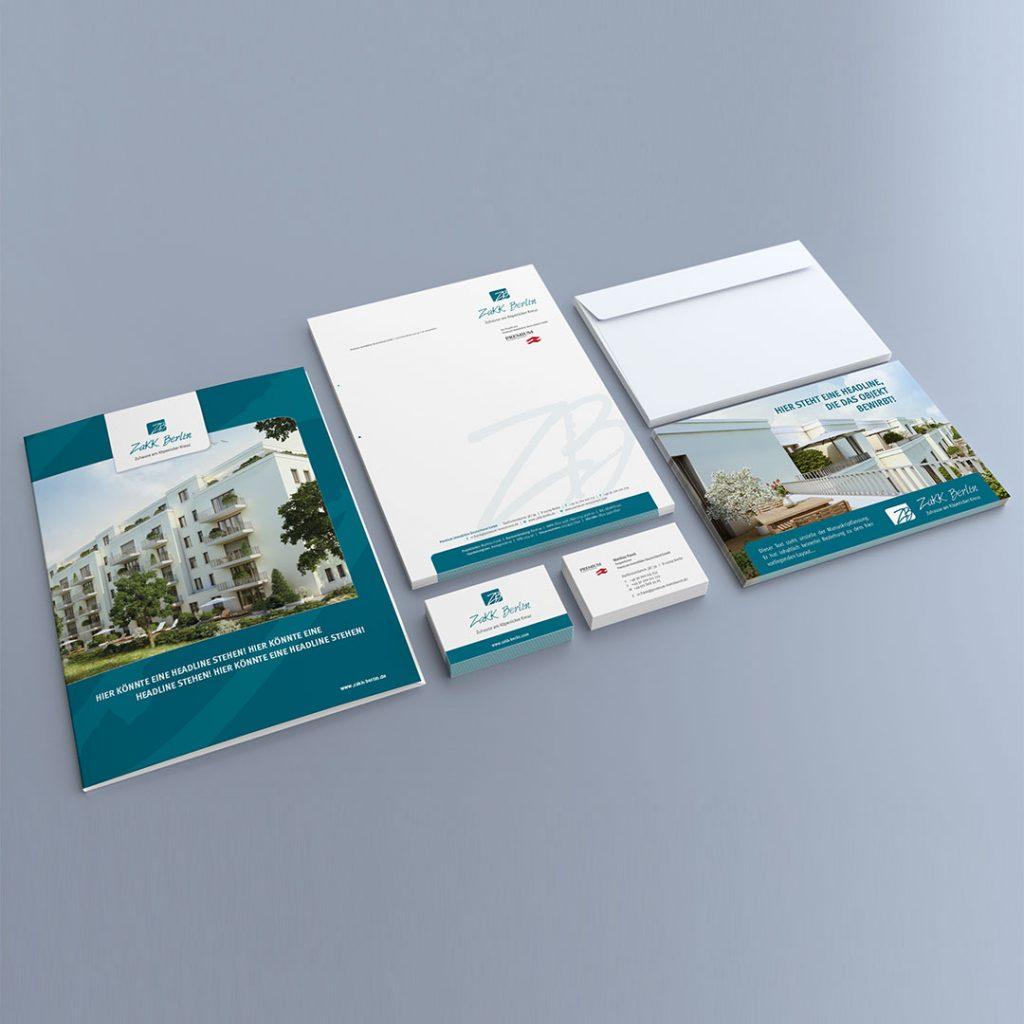 ZAKK Corporate Design und Geschäftsausstattung
