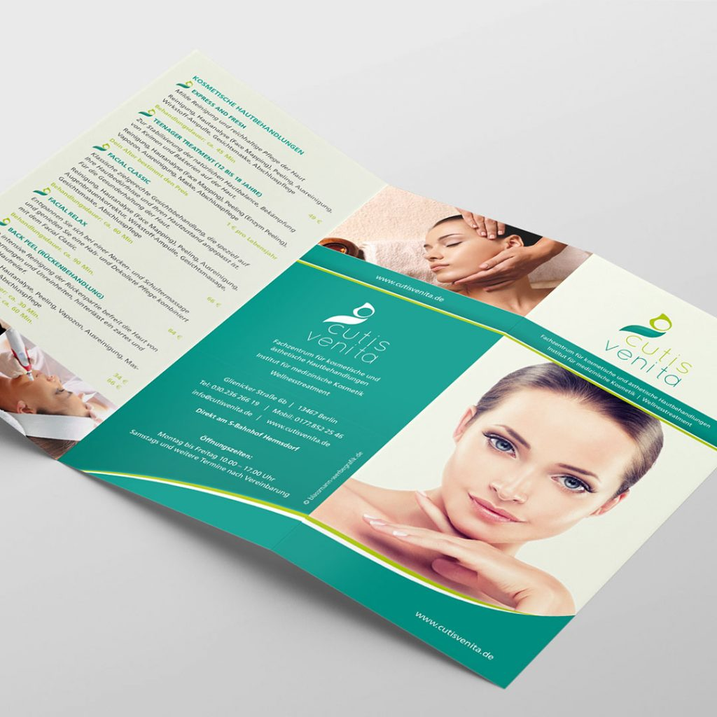cutis venita Corporate Design Flyer